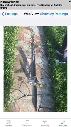 Penn Senator 12/0 Big Game Fishing Reel & Custom Roller Guide Rod - Used Once for Sale in Miami, FL