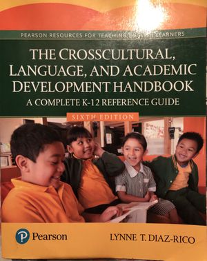 The CrossCultural Language and Acadekic Development Handbook: A Compete K-12 Reference Guide College CSUSB Textbooks for Sale in Moreno Valley, CA