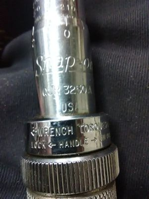 Snap on tourqe wrench for Sale in Evansville, IN