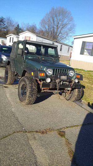 2000 Jeep Wrangler tj 4wd for Sale in Greensboro, NC