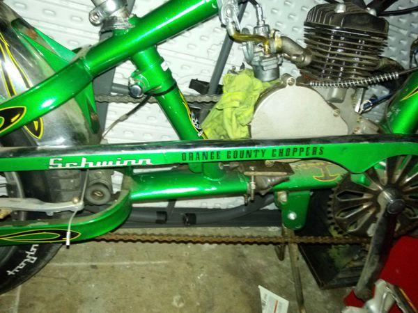 Bicicleta con motor lefalta canbiear el piston lodemas esta al 100