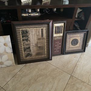 Picture Frames Wall Decorations for Sale in Las Vegas, NV