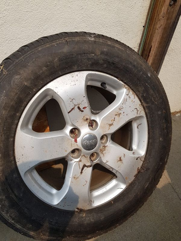 Wheels & Tires off Jeep Grand Cherokee 265/60R18