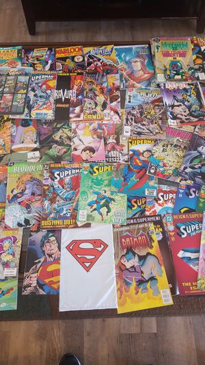 44 comics alot of superman for Sale in Payson, AZ