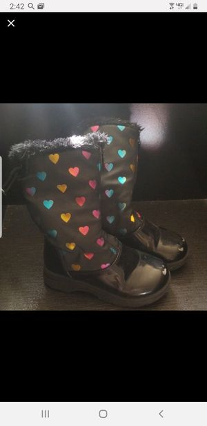 Little girls Snow boots size 11 for Sale in Rancho Mirage, CA
