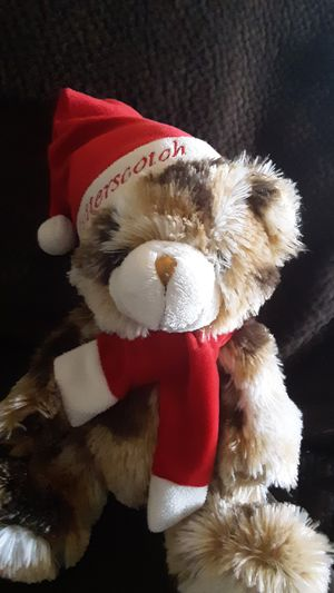 Dan Dee Collector's Choice Butterscotch Tan White Santa Hat Plush for Sale in US