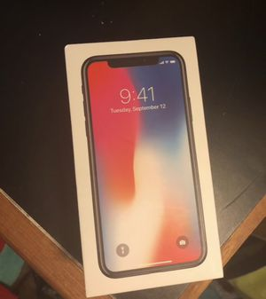 iPhone X 64GB Verizon no cracks for Sale in Pasadena, MD