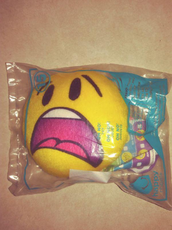 Emoji toy McDonald's collection