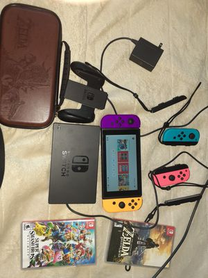 Nintendo Switch V2 bundle selling as a whole for Sale in Napa, CA