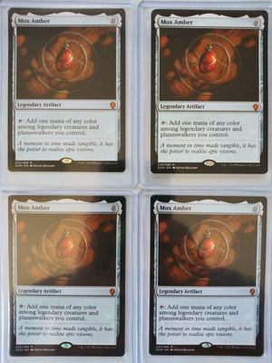 4x Mox Amber NMs Magic the Gathering MTG for Sale in Portland, OR