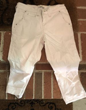 White Like New Capris Signature by Levi's for Sale in Parkville, MD
