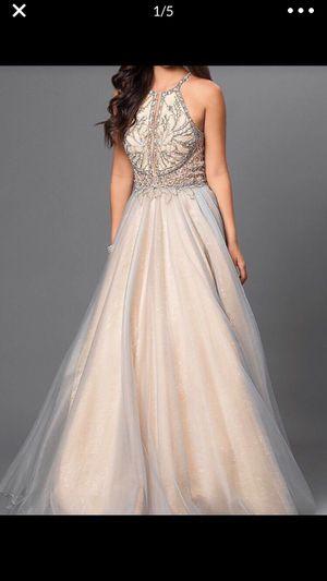 Fancy formal dress size 6 worn once only for Sale in El Cajon, CA