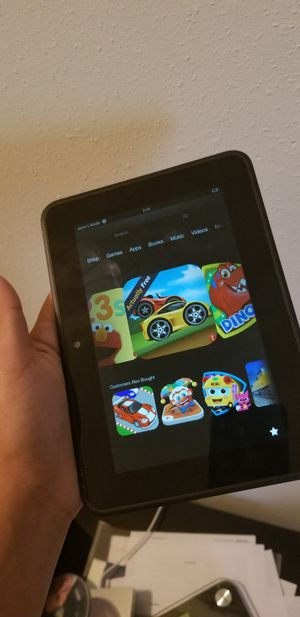 Kindle Amazon tablet for Sale in Humble, TX