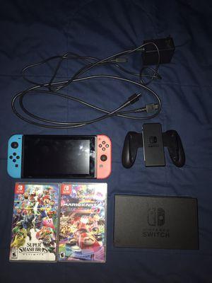 Nintendo Switch Bundle - HARDLY USED for Sale in Hesston, KS