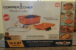 Copper Chef Wonder Cooker for Sale in Lauderhill, FL