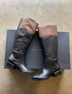 Riding boots (Tommy Hilfiger) brand new for Sale in Daly City, CA