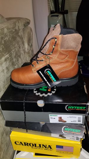 """Hytest 8"""" work boots for Sale in Cleveland, OH"""