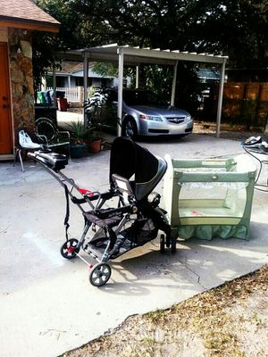 Baby stroller and baby pen for Sale in Tampa, FL