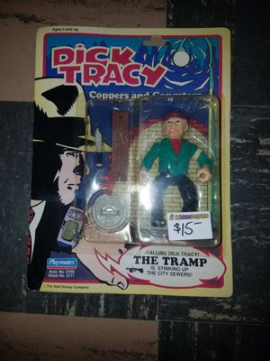 Dick Tracy the tramp action figure collectable for Sale in Parma Heights, OH