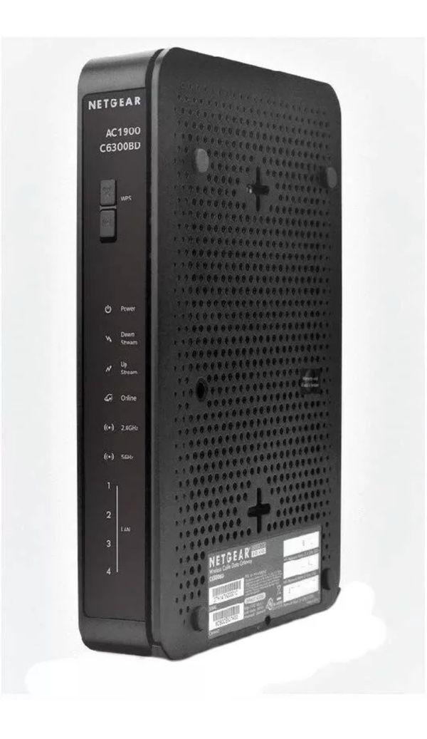 Xfinity/ Comcast SEALED Netgear C6300BD AC1900 Docsis 3.0 Cable Modem Wireless Router