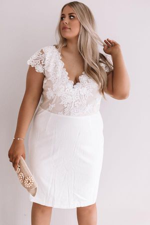 White lace dress for Sale in Joliet, IL