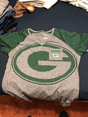 Green Bay packers women's xxl shirt for Sale in Deerfield Beach, FL