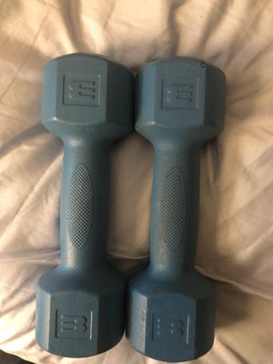 3lbs dumbbells for Sale in Boston, MA