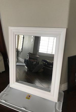 White Mirror for Sale in Yorba Linda, CA