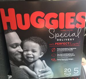 HUggies Special Diapers Size 5 for Sale in Rancho Cucamonga, CA