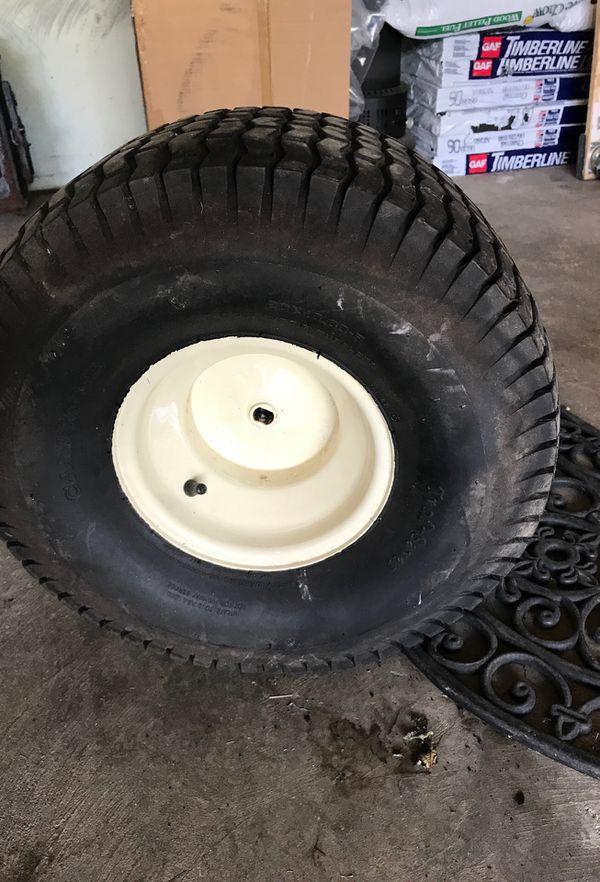 "Cub cadet New Rear wheel and tubeless tire 20""x10""x8"""