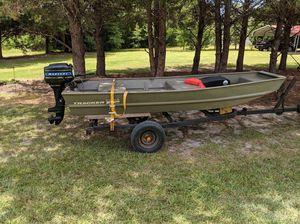 Boat, motor, and trailer for Sale in Wetumpka, AL