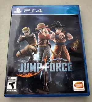 Jump Force PlayStation 4 for Sale in Colton, CA