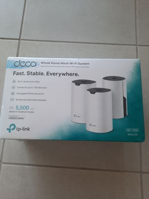 Tp Link Deco s4 Whole Home Mesh Wi-Fi System for Sale in Las Vegas, NV