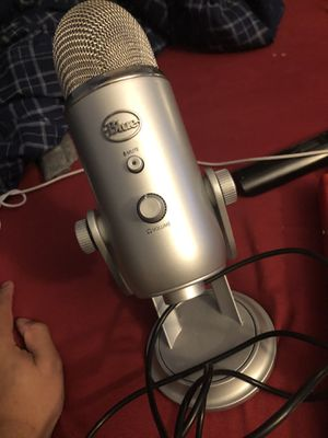 Blue Yeti USB Microphone for Sale in Hartford, CT