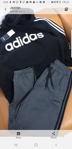 Brand new men's Adidas medium jogging suit for Sale in Las Vegas, NV