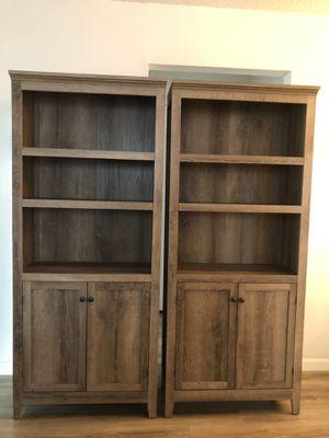Artisanal beach wood bookshelves for Sale in Sunnyvale, CA