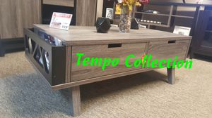 NEW, Melody Coffee Table, Distressed Grey and Black, SKU# 151344CT for Sale in Westminster, CA