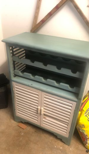 Wine holder and cabinet for Sale in Murfreesboro, TN