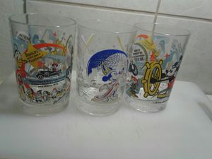3 vintage Walt Disney drinking glasses collectible for Sale in Denver, CO