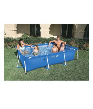 "Intex 86"" x 59"" x 23"" Rectangular Frame Above Ground Swimming Pool for Sale in Bristow, VA"