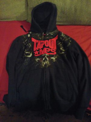 Tapout and shuan white boys hoodie jackets for Sale in San Antonio, TX