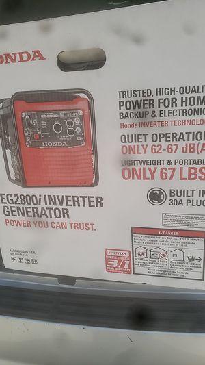 Honda generator EG2800 for Sale in Englewood, CO