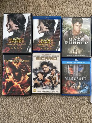 Hunger Games Collection and more Movies for Sale in San Diego, CA