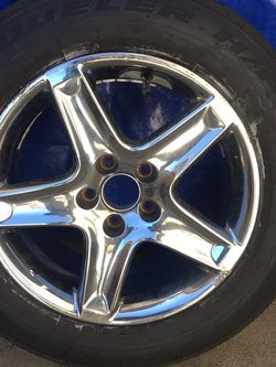 Aluminum Chrome Wheel And Tire Off Acura TL for Sale in Vacaville,  CA