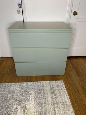IKEA mint 3 drawer dresser for Sale in Pasadena, CA