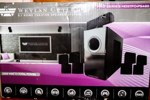 Weylan Cutler 5.1 Home Theater Speaker Syestem for Sale in St. Petersburg, FL