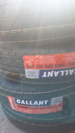 4 new tires st205 75 r15 gallant trailer's $240 for Sale in Los Angeles, CA