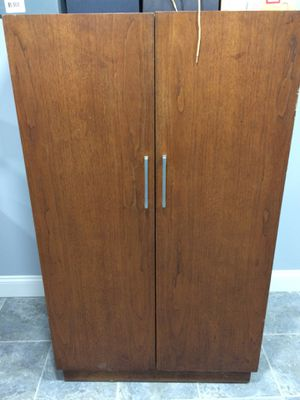 Solid wood closet with shelves for Sale in Dearborn, MI