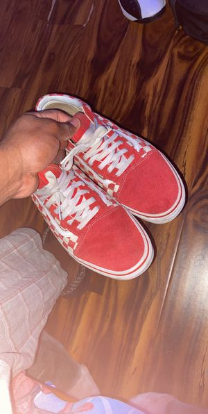 red checkered vans size 12 for Sale in Riverside, CA
