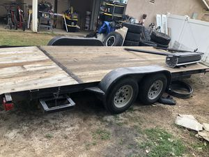 Carson Car Trailer (7ft x 18ft) for Sale in Riverside, CA